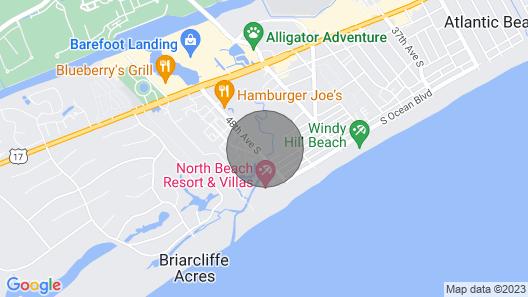 LUXURY 2BR/2BA OCEAN VIEW, MARSH FRONT VILLA BEAUTIFUL DECOR WALK TO BAREFOOT Map