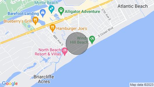 Windy Hill Villa B - Blue Reef Map