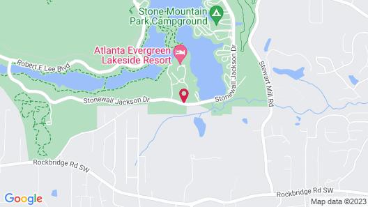 Atlanta Evergreen Marriott Conference Resort Map