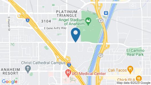Luxurious Anaheim 2BD Suite- Near Disney Map