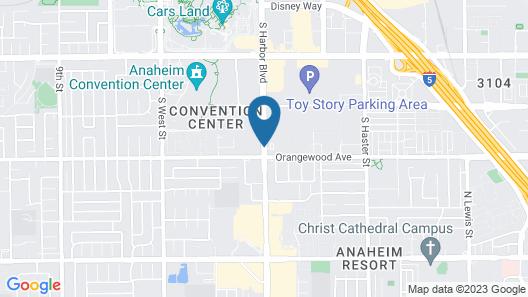 DoubleTree Suites by Hilton Anaheim Rsrt - Conv Cntr Map