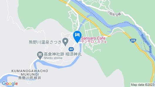 Sansaro Cafe & guest house Map