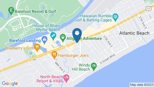 Barefoot Resort & Yacht Club Map
