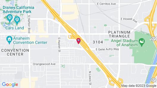 Sonesta ES Suites Anaheim Map
