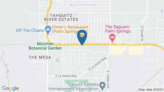 Mid-Century Pad - Ocotillo Lodge - 1 Br Condo Map