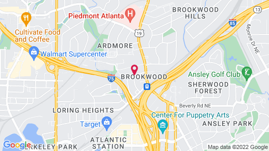 BCA Furnished Apartments Map