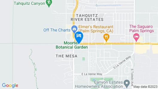 Sonder | V Palm Springs Map