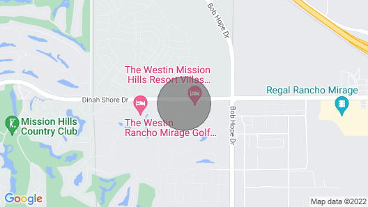 Westin Mission Hills Resort Villas, Palms Springs Map