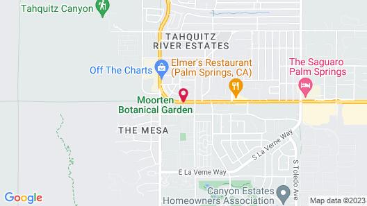 Caliente Tropics Hotel Map