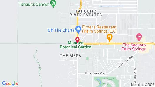 Vagabond Motor Hotel - Palm Springs Map