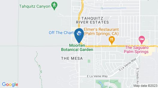 Best Western Inn at Palm Springs Map