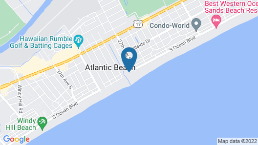 Bay Watch Resort & Conference Center by Oceana Resorts Map