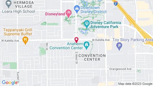 Eden Roc Inn & Suites Map