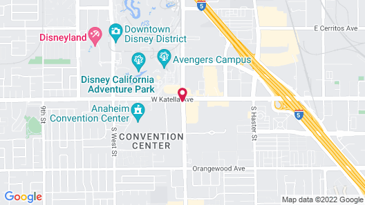 SpringHill Suites by Marriott at Anaheim Resort/Conv. Cntr Map