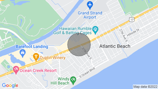 Tiny Beach Home in North Myrtle Beach! Map