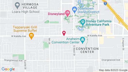 Best Western Plus Pavilions Map