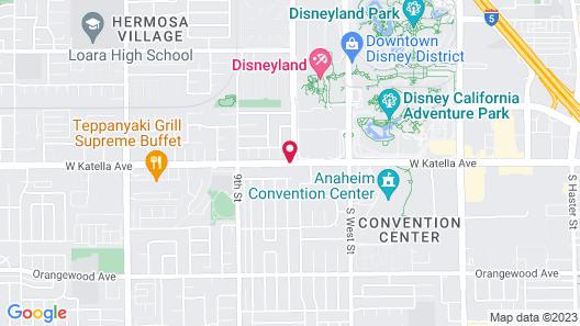 Abby's Anaheimer Inn Map