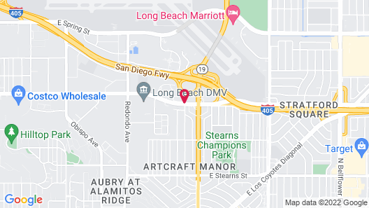 Residence Inn By Marriott Long Beach Map