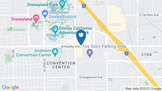 Hotel Indigo Anaheim, an IHG Hotel Map