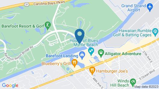 Barefoot Resort - Yacht Club S 3-503 - Waterway 3 Bedroom Condo Map