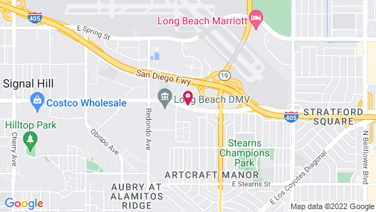 Extended Stay America Suites Los Angeles Long Beach Airport Map