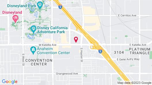 WorldMark Anaheim Map