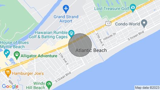 Summertime Getaway - Steps From Atlantic Beach! Map