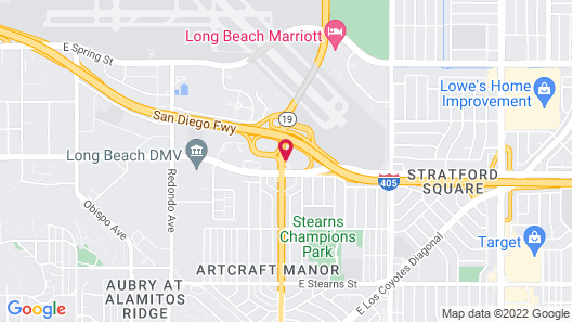 Holiday Inn Long Beach Airport Hotel and Conference Center, an IHG Hotel Map