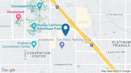 La Quinta Inn & Suites by Wyndham Anaheim Map