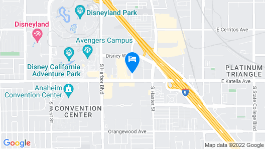 La Quinta Inn & Suites by Wyndham Anaheim Map