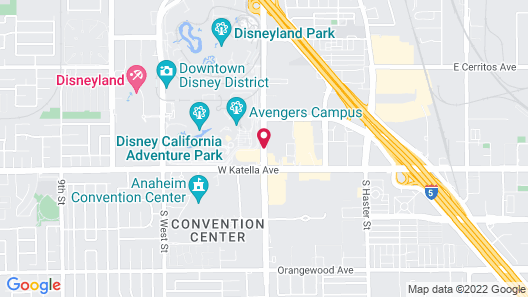 Castle Inn and Suites Map