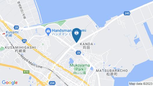 Blueport Hotel Kanda Kitakyushu Airport Map