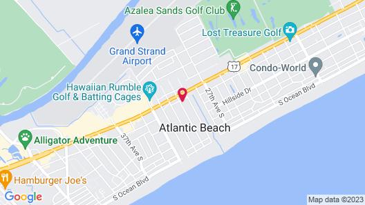 Riviera Motor Lodge Map