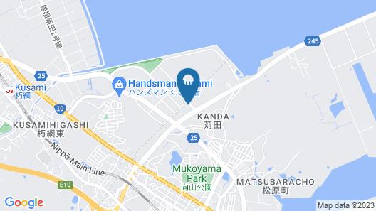 R Hotel Inn Kitakyushu Airport Map