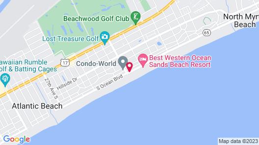 Crescent Shores by Condo-World Map