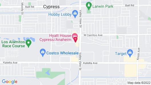 Extended Stay America Orange County - Cypress Map