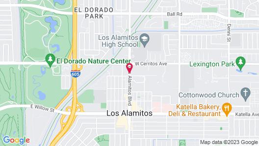 Best Western Los Alamitos Inn & Suites Map