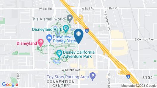 Best Western Plus Park Place Inn - Mini Suites Map