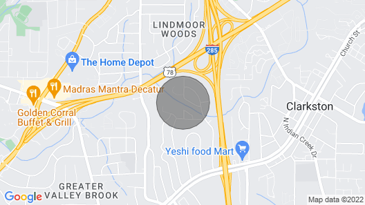 Atlanta, Decatur,stone Mt- Indoor Heated Pool, House + Mother-in-law Suite, $300 Map