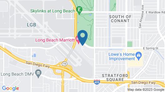 Long Beach Marriott Map