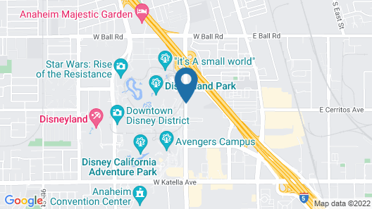 Fairfield by Marriott Anaheim Resort Map