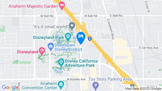Fairfield by Marriott Anaheim Resort Map