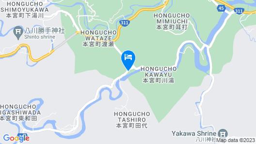 Kawayu Matsuya Map