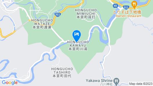 Kawayu onsen Minshuku SUMIYA Map