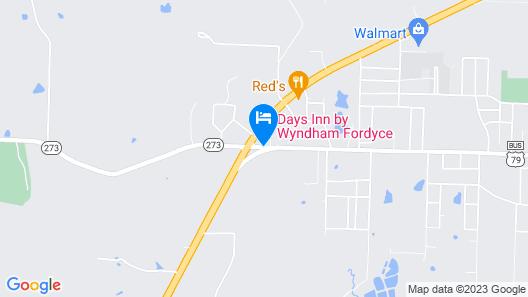 Days Inn by Wyndham Fordyce Map