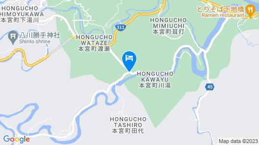 Sansuikan Kawayu Midoriya Map