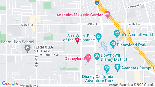 On the Doorstep of Disneyland by RedAwning Map