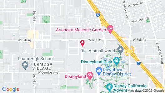 Holiday Inn Hotel & Suites Anaheim, an IHG Hotel Map
