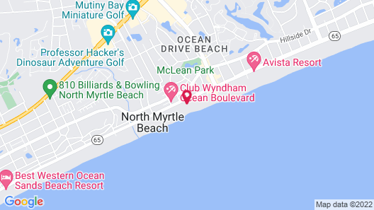 Peppertree by the Sea by Capital Vacations Map