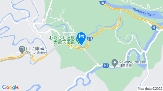 Watarase Onsen Hotel Yamayuri Map